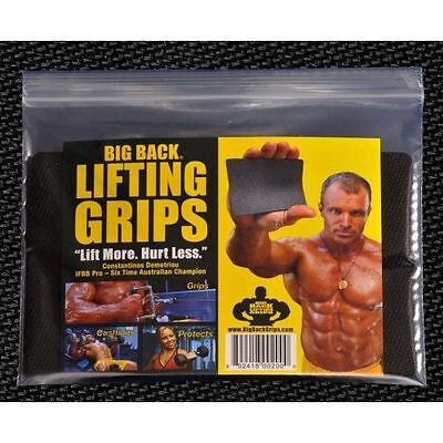 Big Back Lifting Grips Straps, Weightlifting Gym, Rubber Glove Workout Glove