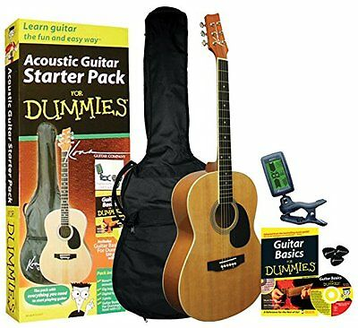 Guitar For Dummies Acoustic Guitar Starter Pack Guitar Book Audio CD Gig Bag