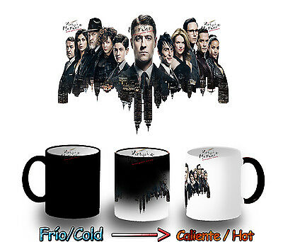TAZA MAGICA GOTHAM SERIE BATMAN MAGIC MUG tasse es