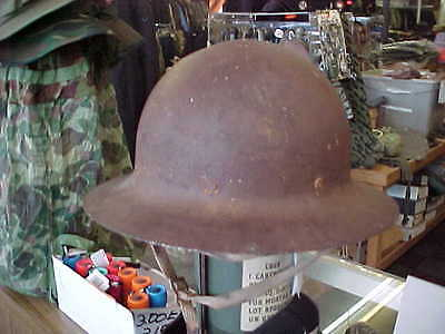 British English US WW2 WWII Civil Defense OCD Helmet