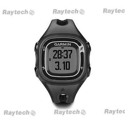 Garmin Forerunner 10 GPS fitness womans watch display black/silver 010-01039-19