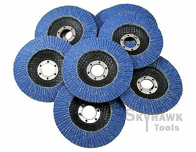 "New 10-PC 4-1/2"" X 7/8""  Premium Zirconia Flap Disc Grinding Wheel 40 Grit"
