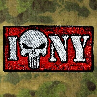 ZOMBIE HUNTER TACTICAL PUNISHER RIDE MOTORCYCLE BLOOD BIKER PATCH PSALM 23:4