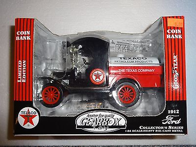 Gearbox Texaco 1912 Ford Diecast Bank 1:24