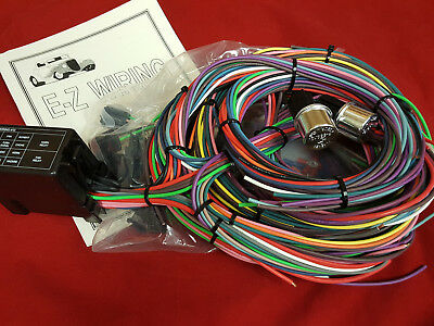 Sensational 12 Circuit Ez Wiring Harness Chevy Mopar Ford Street Hot Rod Wiring Digital Resources Funapmognl