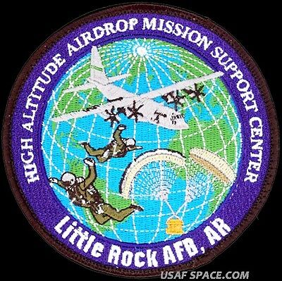 Usaf High Altitude Airdrop Mission Support Center -Haams- Original Patch