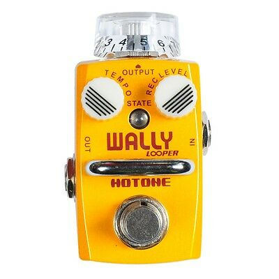 Hotone Wally Looper Loop Station Overdub Record Electric Guitar Effect Pedal