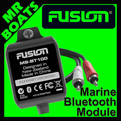 FUSION MARINE ✱ BLUETOOTH MODULE ✱ Stream music wireless with MS-BT100 Dongle