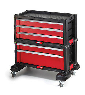 5 Drawer Tool Chest System Tool Organizer Box Toolbox KETER 220448