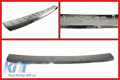 Volvo XC60 2009-2012 Rear Bumper Protector Sill Plate Foot Plate Aluminum Cover