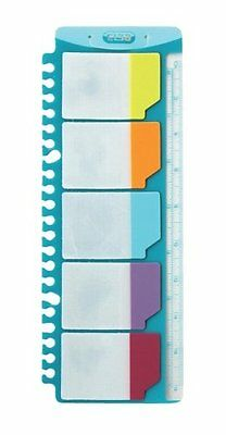 Elba  A4 File Adhesive Divider Tabs For FOLDERS RING BINDERS Pack of 25 divider