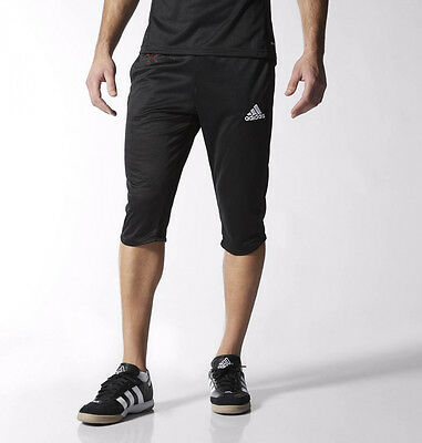 1097 New Adidas 3/4 Shorts Climalite Training Mens Pant Shorts  S M L XL