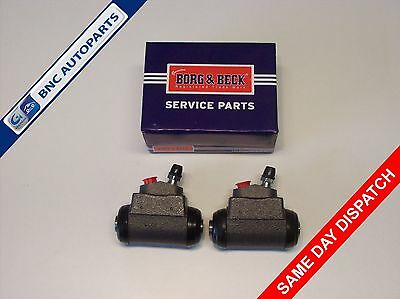 WHEEL CYLINDER REAR (PAIR) for FORD CORTINA MK3 2litre - Borg & Beck