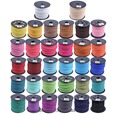 Soft Velvet Korea Frosting Cord Thread For Diy Bracelet Necklace 10/100 Meters