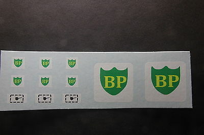 MATCHBOX TRANSFERS/DECALS - A1-b BP PETROL PUMPS