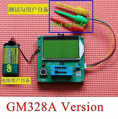 Digital Combo Component Tester Transistor Diode Inductor Capacitor LCR ESR Meter