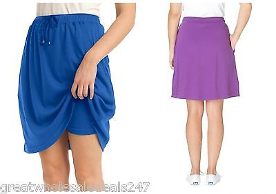 'WOMAN WITHIN' PLUS SIZE SKORT  (Wholesale Lots of 36)