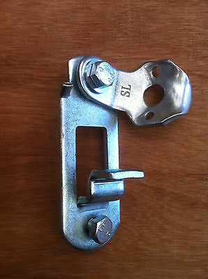 Door Handle Retainer For the Repair of Shipping Containers