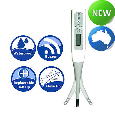 OMRON MC-343F Rapid Flexible Tip Thermometer