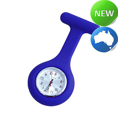Nurse Silicone FOB Watch with Date Function - Navy