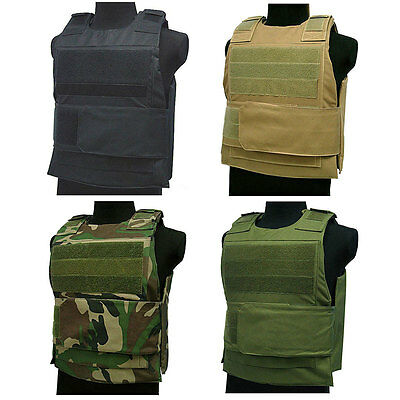AirSoft Tactical Paintball Wargame BB Bulletproof Armour Plate Stab Proof Vest