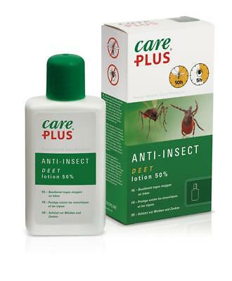 (EUR 27,80/100ml) Care Plus® Anti-Insect DEET Lotion 50%  Insektenschutz 50ml