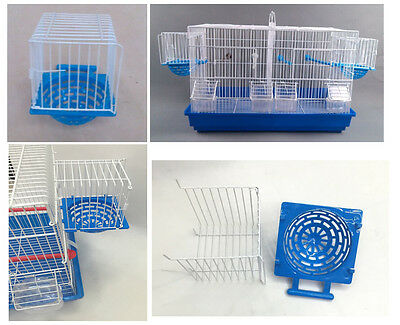 set of 5 NEW NEST BOX DELUXE Metal/Plastic Breeding NestBox Canary Finch British