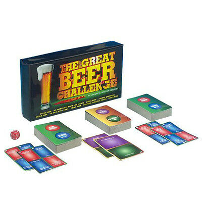 The Great Beer Challenge Board Game Party Drinking Fun Adult Games