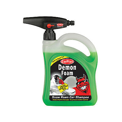 Carplan Demon Shine Snow Foam Hose Pipe Gun Car Wash Shampoo 2 Litre