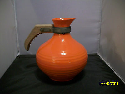 Bauer Ring Orange Carafe