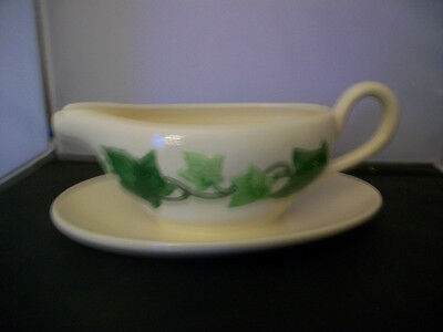 Franciscan Ivy Gravy Boat & Attached Underplate