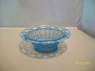 "Imperial Laced Edge ""katie Blue"" Bowl"