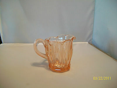 Imperial Glass Company Old Williamsberg Pink Creamer