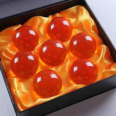 Anime Dragon Ball Z Stars Crystal Ball Collection Set Packaged in Gift Box NEW