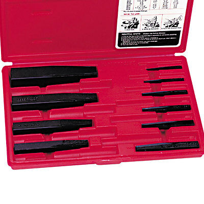 Proto Tool 10 Piece Screw Extractor Set J9500B New