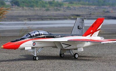 F-18 Hornet  65 inch Wing   Giant Scale RC AIrplane Printed Plans
