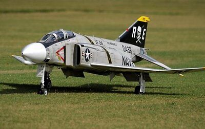 F-4 Phantom  46 inch Wing   Giant Scale RC AIrplane Printed Plans & Templates