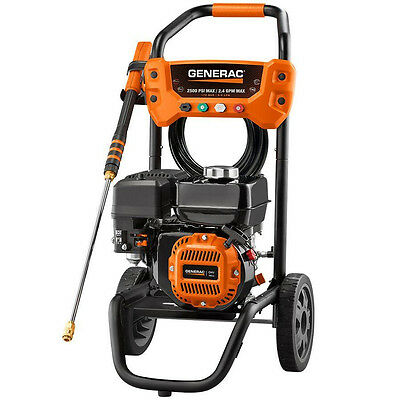 Generac 2500 PSI Pressure Washer Newest replaces 6020 6921 New