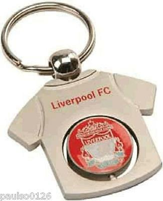 Official Liverpool FC Spinner Keyring
