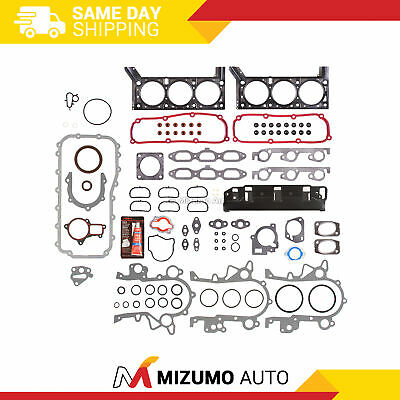 Fit 04-10 Chrysler Pacifica Town Country Dodge Grand Caravan 3.8 Full Gasket Set