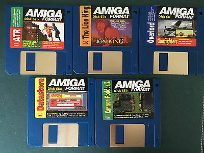 Commodore Amiga software disks various games and utilities #1