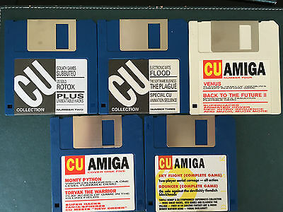 Commodore Amiga software disks various games and utilities #2