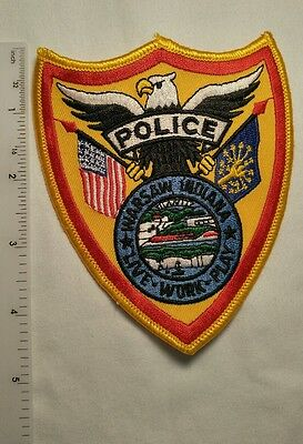 Police Department Law enforcement patch- Warsaw Indiana