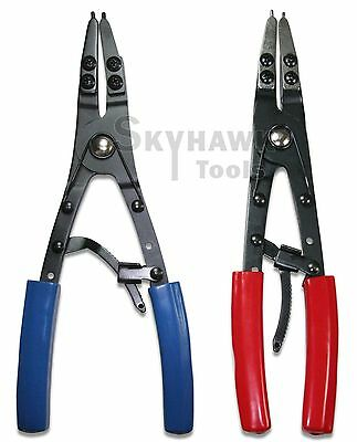 "New 10-1/2"" Snap Ring CIRCLIP Remover Installer Retaining O Ring Pliers 2-Pc"