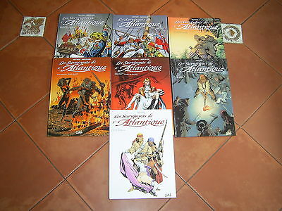 Lot De 7 Bd Les Survivants De L Atlantique Du Tome 1 Au Tome 7 Editions Soleil
