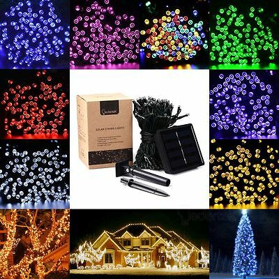 LederTek 50-200 Led Solar/Battery Power Fairy Light String Outdoor Wedding Party