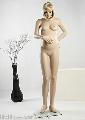 Shop Display SEXY PREGNANT Female Mannequin Brand Dressmaker LifeLike Appearance