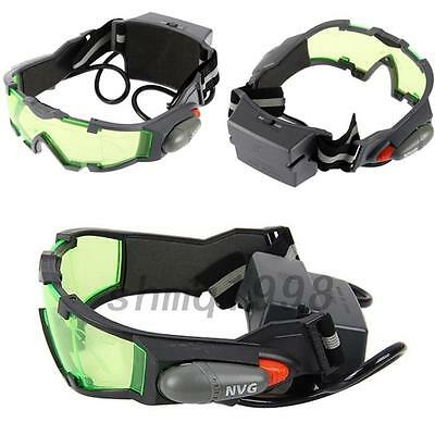 Night Vision Goggles Windproof glasses with flip-out lights Flip-out Lights New