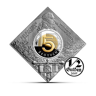 POLAND 5 Zlotych 2016 Foundation of the Warsaw Mint Silver Proof Coin NUMISHOP