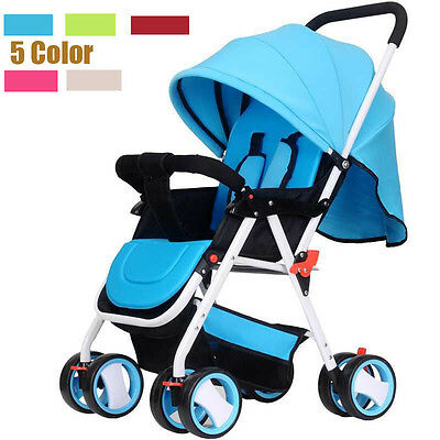 New Kids Boys Girls Toddler Pram  Umbrella Fold Jogger Baby Stroller Lightweight
